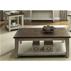 Liberty Furniture Lancaster Rustic Occasional Table Group