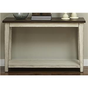 Vendor 5349 Lancaster Rustic Sofa Table