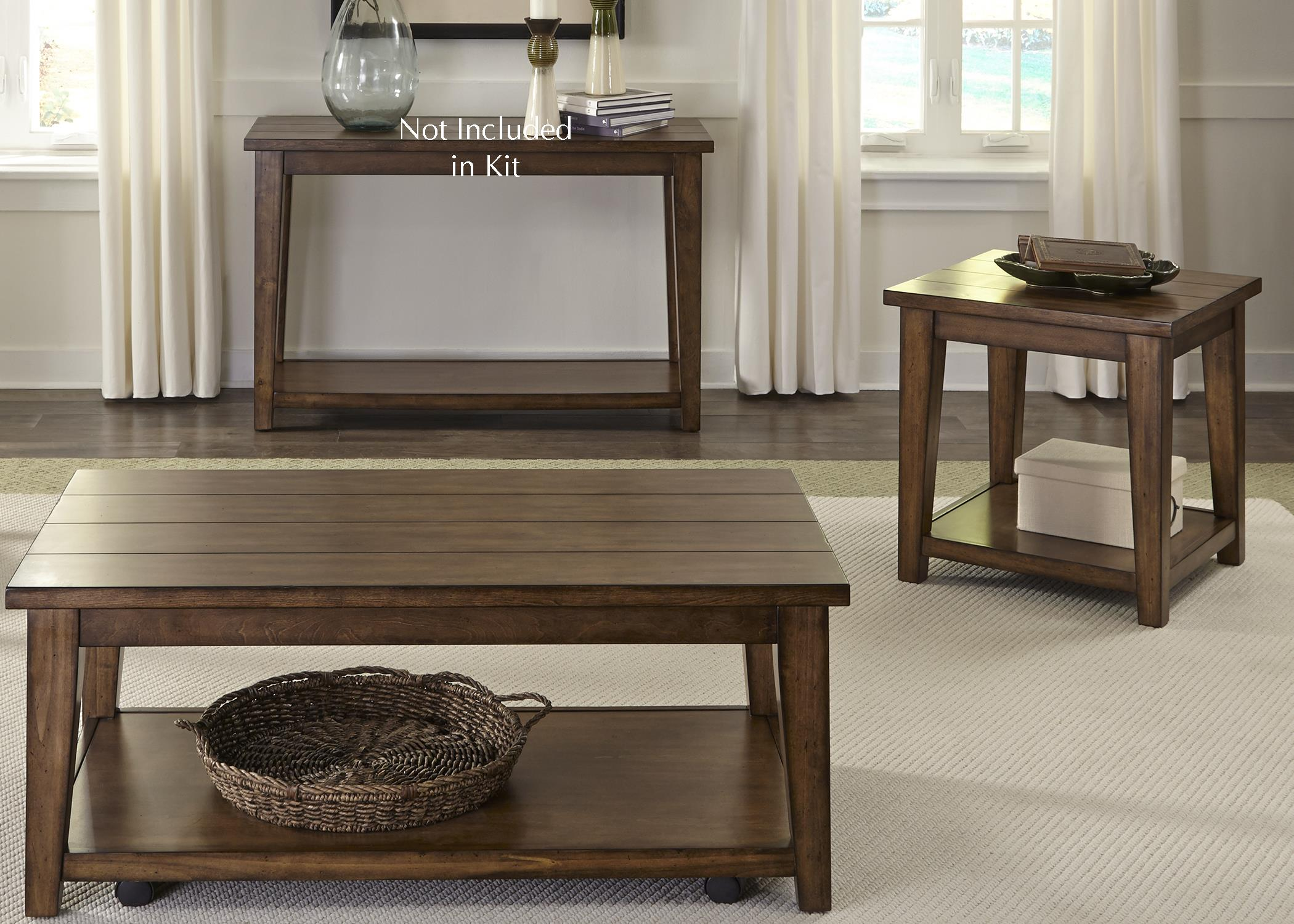 Liberty Furniture Lancaster 3 Piece Set  - Item Number: 712-OT-3PCS