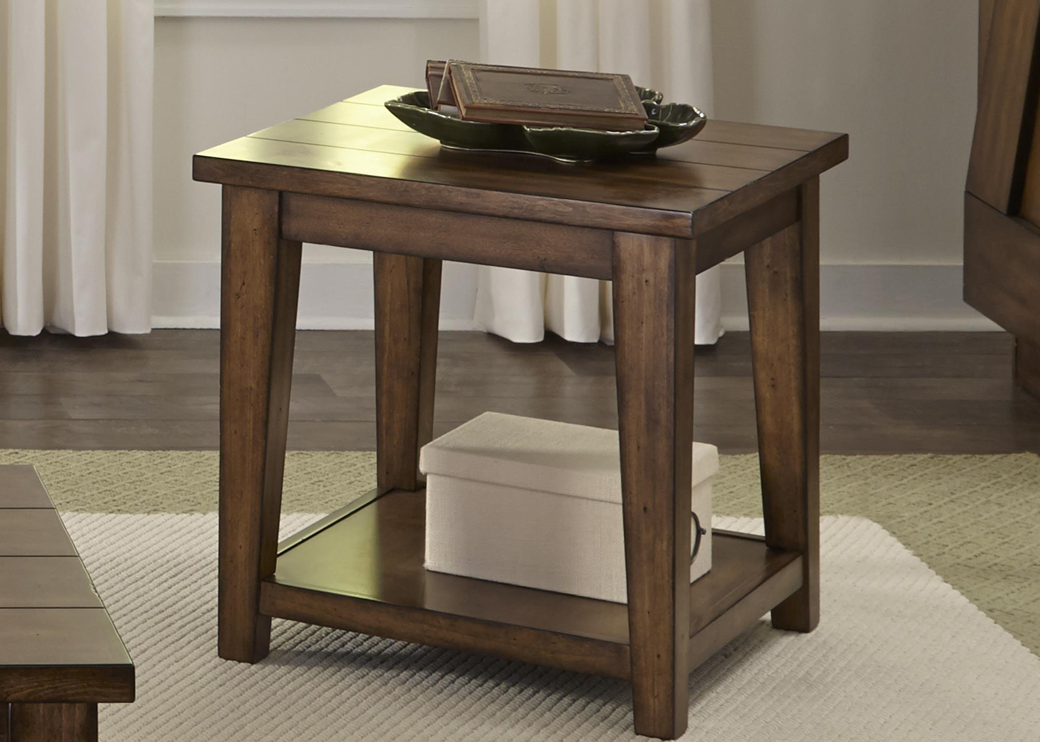 Liberty Furniture Lancaster II Occasional End Table - Item Number: 712-OT1020