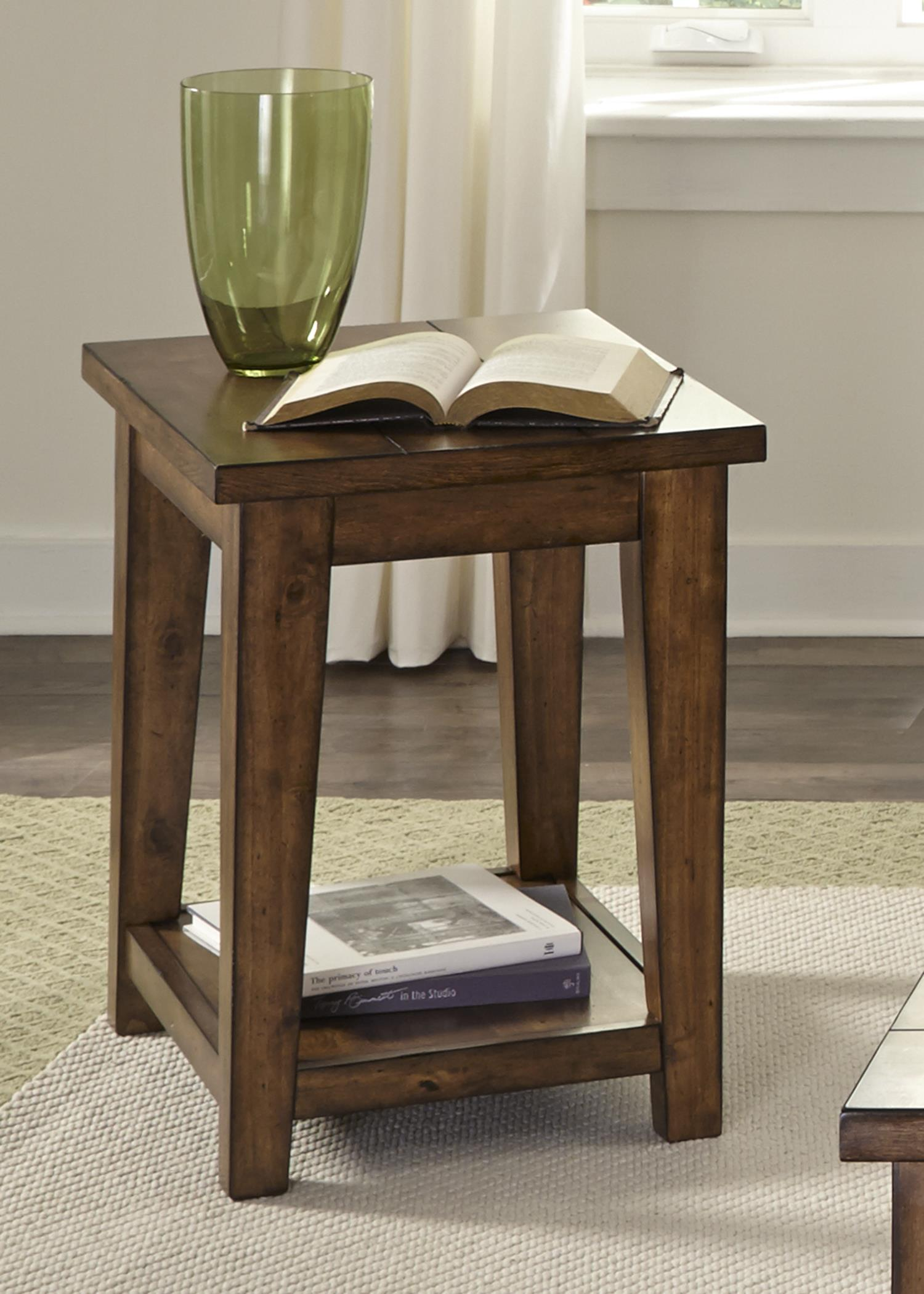 Liberty Furniture Lancaster II Occasional Chair Side Table - Item Number: 712-OT1021