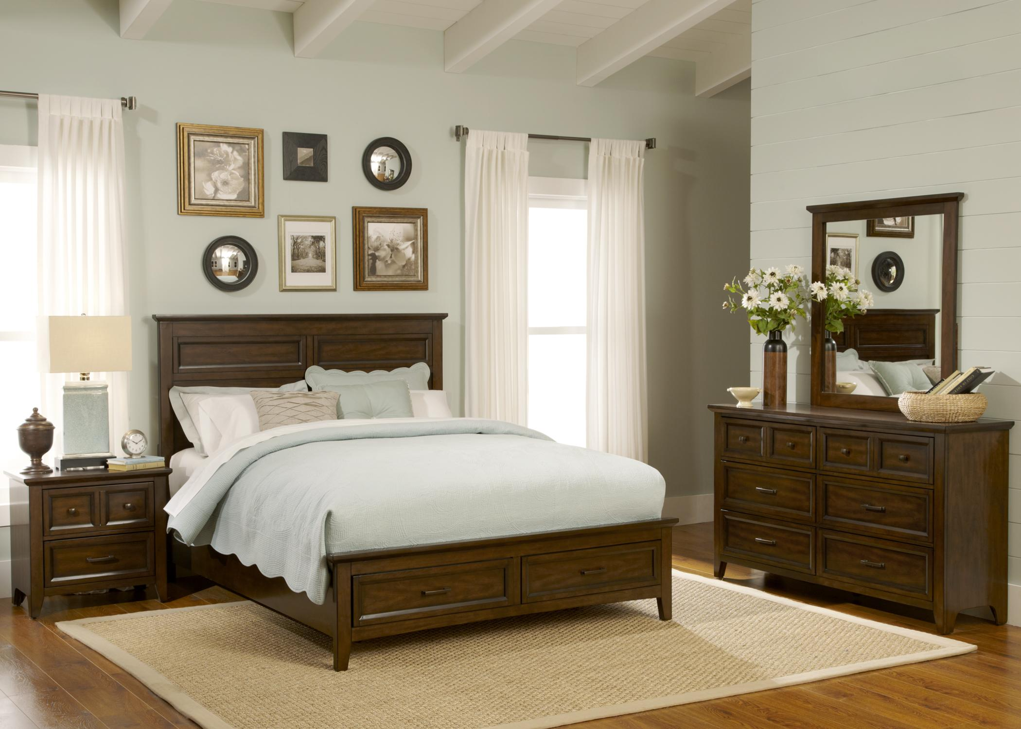 Liberty Furniture Laurel Creek Queen Bedroom Group 1 - Item Number: 461-BR-GP218