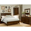 Liberty Furniture Laurel Creek King Bedroom Group - Item Number: 461-BR-KSBDMC