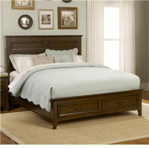Liberty Furniture Laurel Creek King Storage Bed