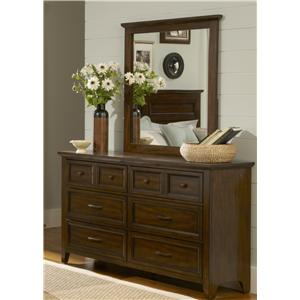 Vendor 5349 Laurel Creek Dresser & Mirror