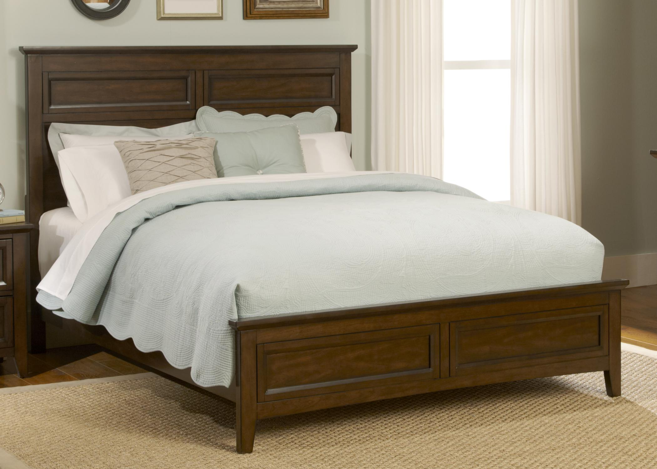 Liberty Furniture Laurel Creek King Panel Bed  - Item Number: 461-BR-SET65