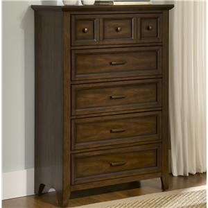 Liberty Furniture Laurel Creek 5-Drawer Chest