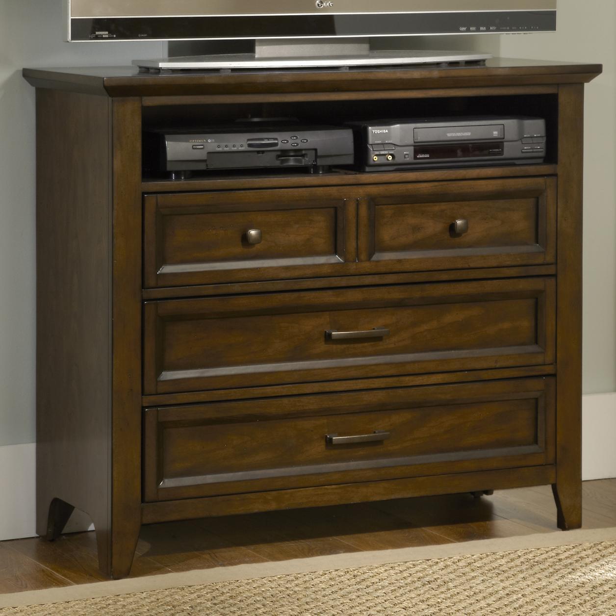 Liberty Furniture Laurel Creek Media Chest - Item Number: 461-BR45