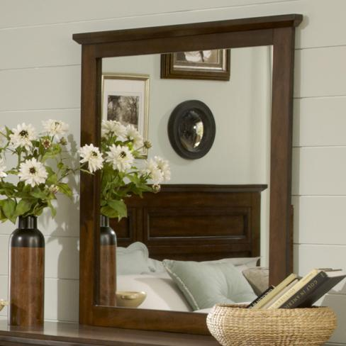 Liberty Furniture Laurel Creek Landscape Mirror - Item Number: 461-BR51