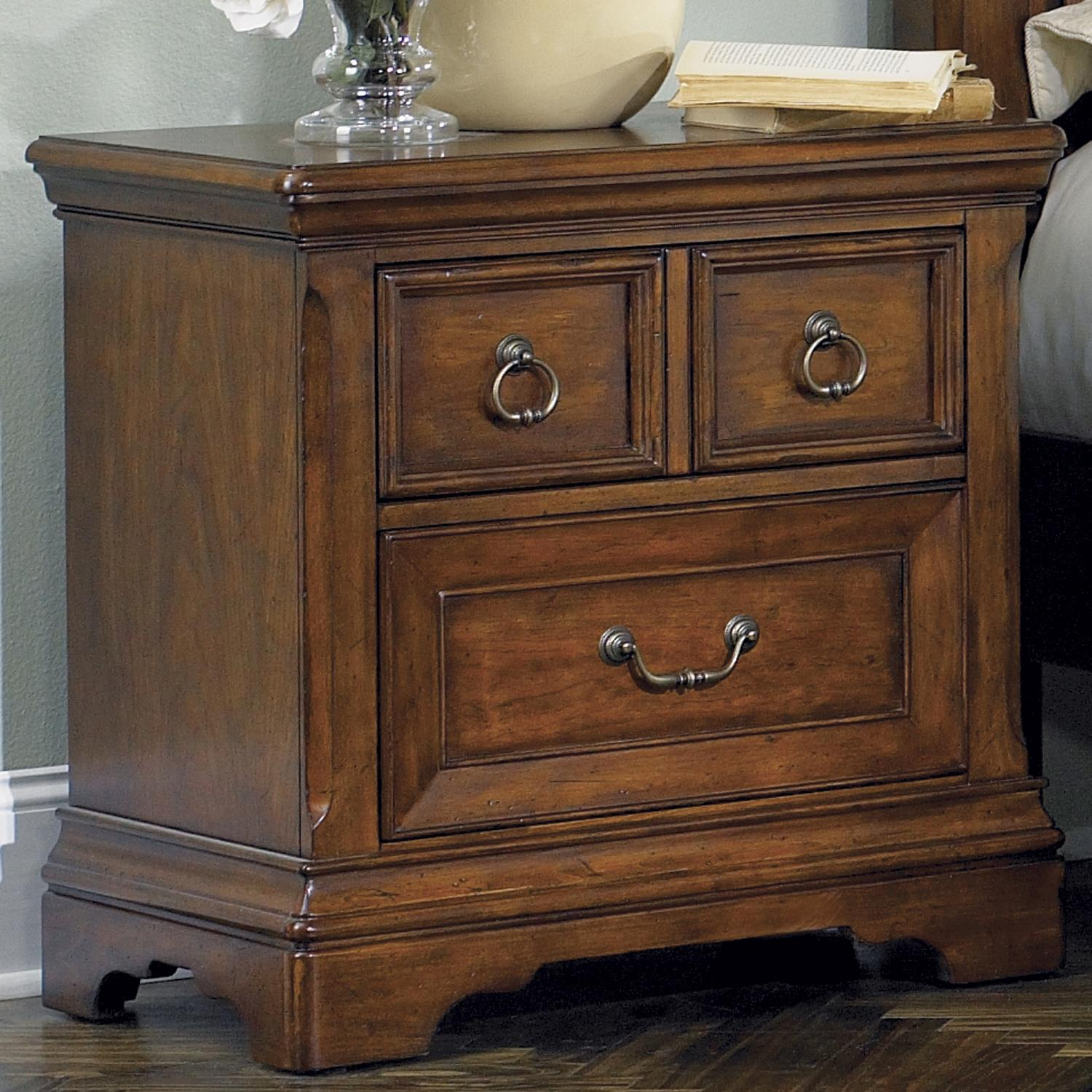 Liberty Furniture Laurelwood Night Stand - Item Number: 547-BR61