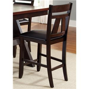Vendor 5349 Lawson Splat Back Counter Chair (RTA)