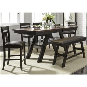 Vendor 5349 Lawson 6 Piece Gathering Table Set  sc 1 st  Becker Furniture World & Table and Chair Sets | Twin Cities Minneapolis St. Paul Minnesota ...