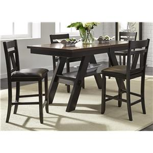 Vendor 5349 Lawson 5 Piece Gathering Table Set