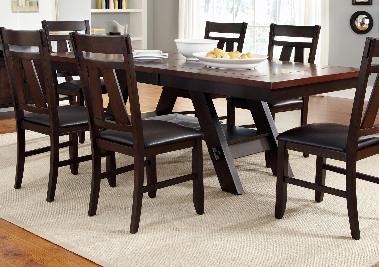 Vendor 5349 Lawson Rectangular Dining Table - Item Number: 116-P4090+T4090