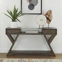 Liberty Furniture Lennox Drawer Sofa Table - Item Number: 871-OT1030