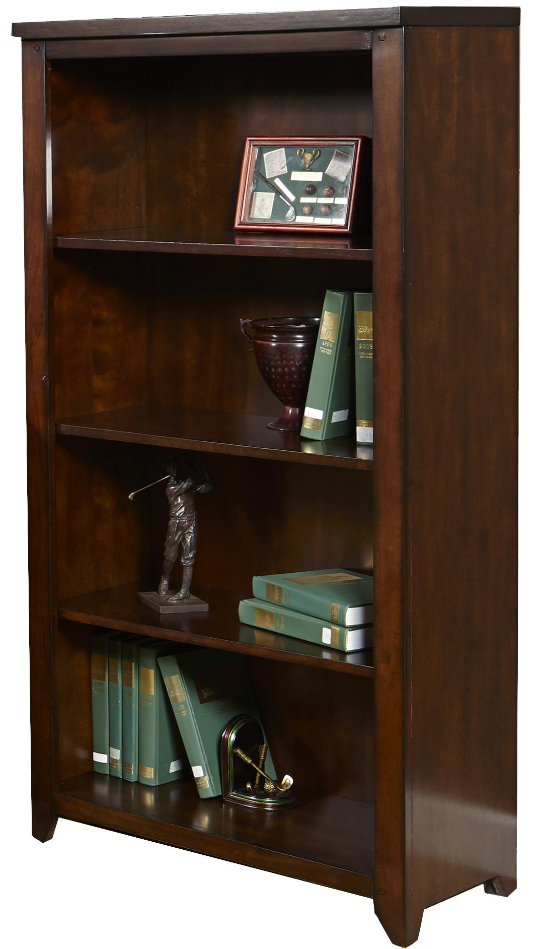Liberty Furniture Leyton Open Bookcase - Item Number: 326-HO201