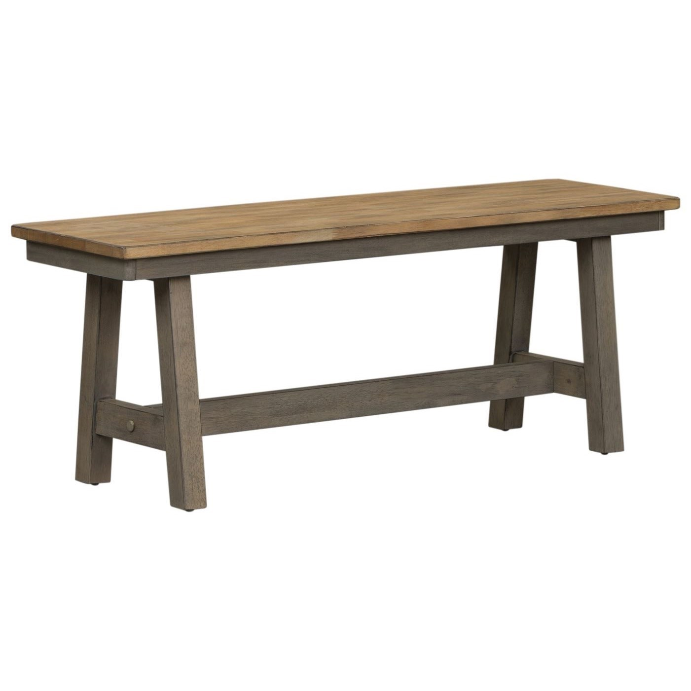 Lindsey Farm Backless Bench by Liberty Furniture at Johnny Janosik