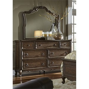 Liberty Furniture Lorraine Dresser & Mirror
