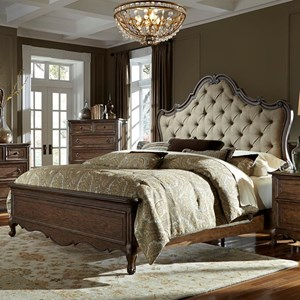 Liberty Furniture Lorraine King Upholstered Bed