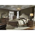 Liberty Furniture Lorraine King Bedroom Group - Item Number: 843-BR-KUBDMCN