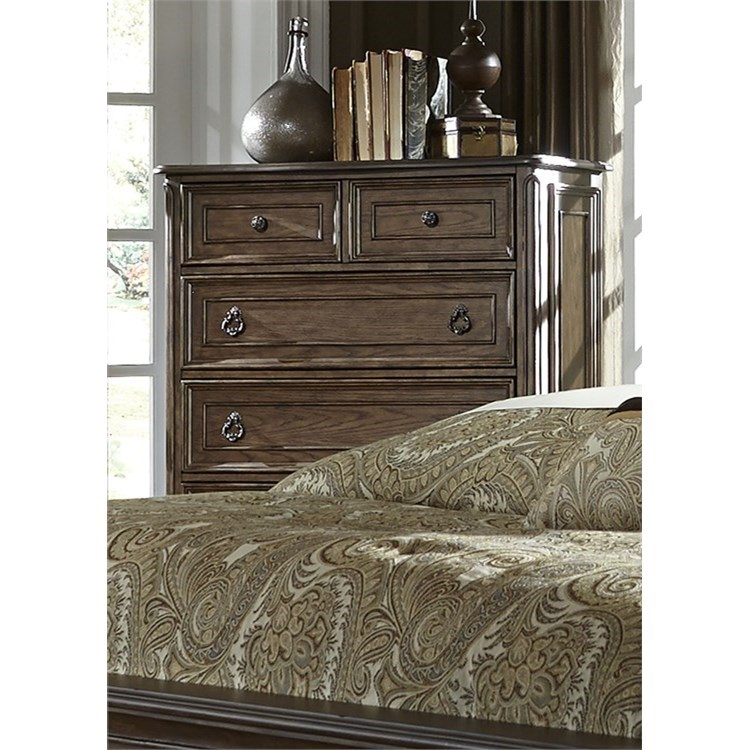 Liberty Furniture Lorraine 5 Drawer Chest - Item Number: 843-BR41