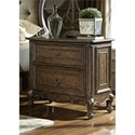 Liberty Furniture Lorraine 2 Drawer Night Stand - Item Number: 843-BR61