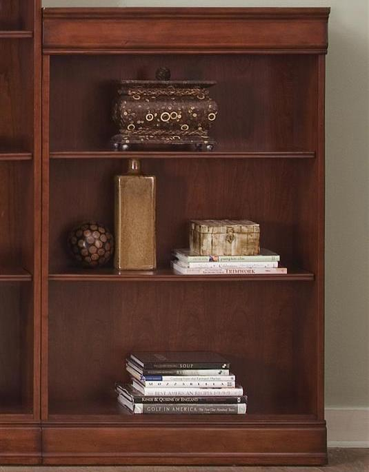 Liberty Furniture Louis Jr Bookcase Jr Executive 48 Inch Bookcase - Item Number: 101-HO3048-RTA