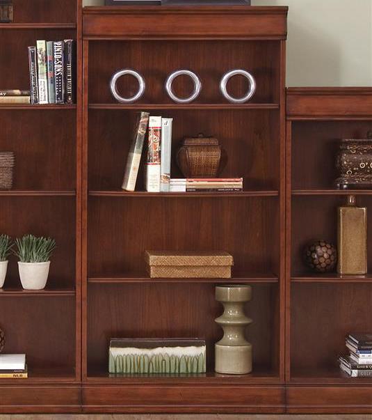 Liberty Furniture Louis Jr Bookcase Jr Executive 60 Inch Bookcase - Item Number: 101-HO3060-RTA