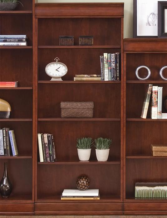Liberty Furniture Louis Jr Bookcase Jr Executive 72 Inch Bookcase - Item Number: 101-HO3072-RTA