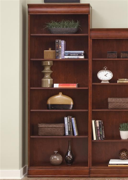 Liberty Furniture Louis Jr Bookcase Jr Executive 84 Inch Bookcase - Item Number: 101-HO3084-RTA