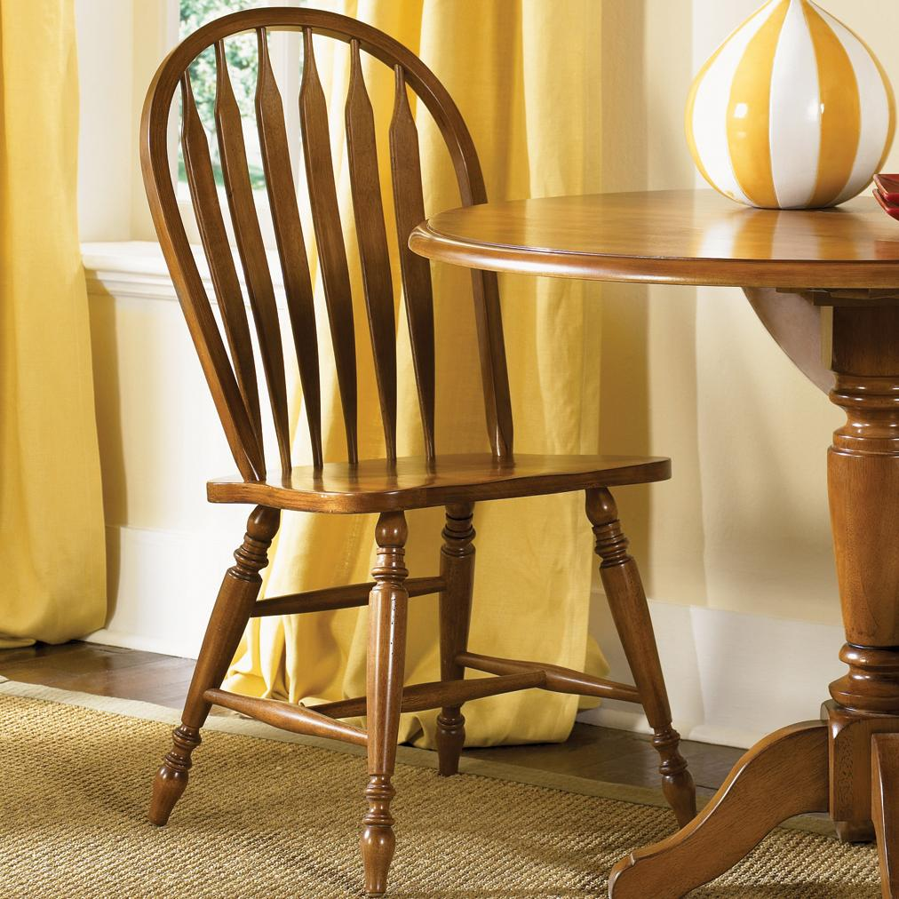 Liberty Furniture Low Country Windsor Back Side Chair - Item Number: 76-C1000S