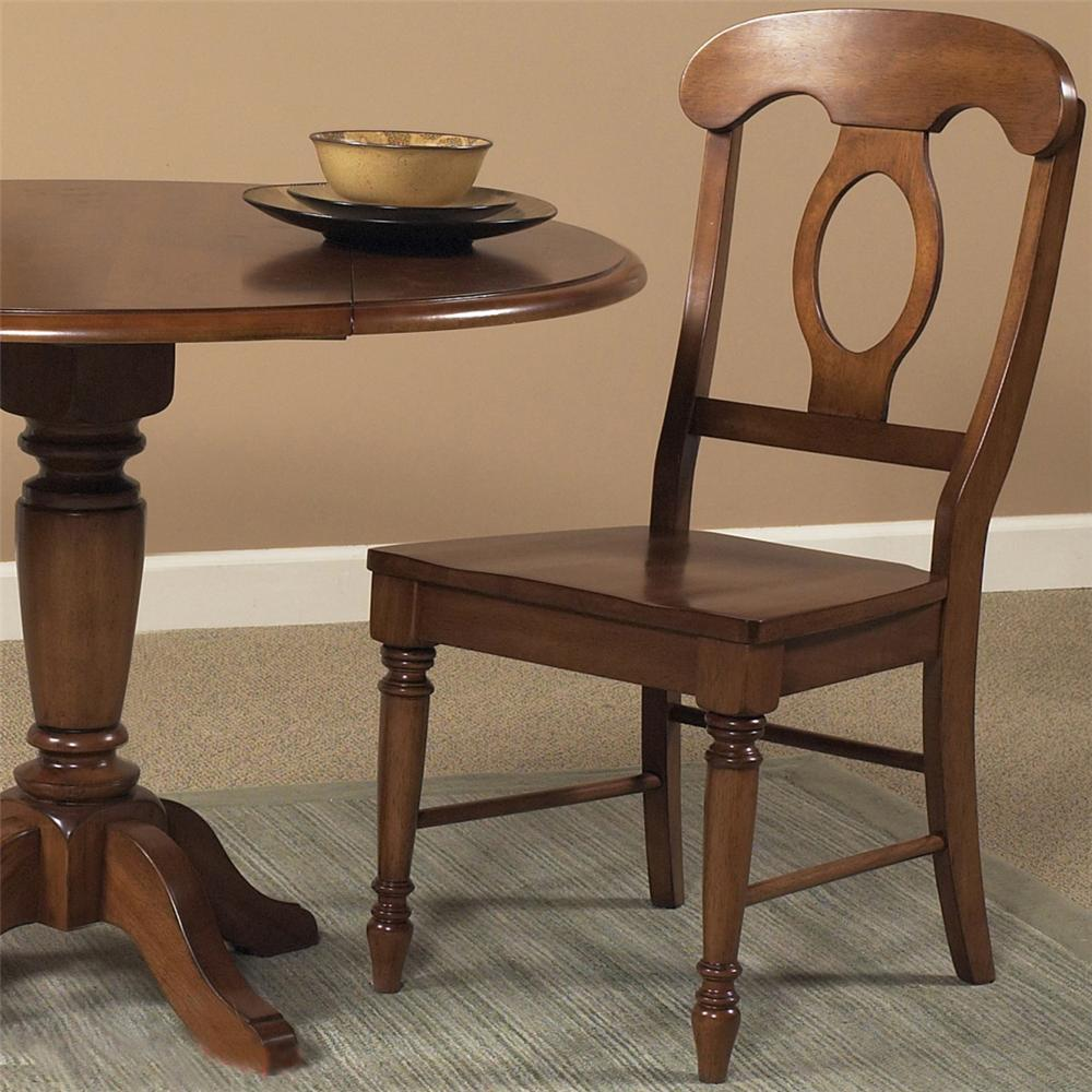 Liberty Furniture Low Country Napoleon Back Side Chair - Item Number: 76-C5500S