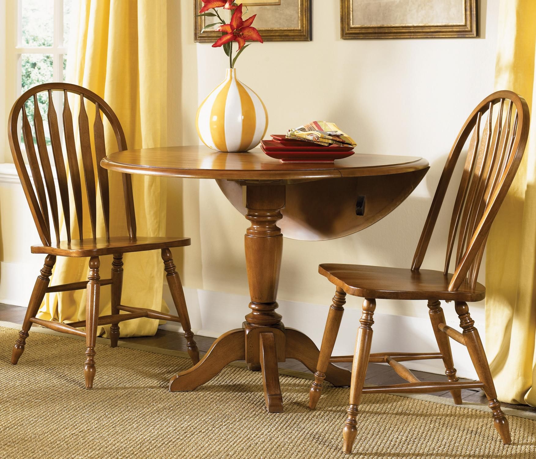 Liberty Furniture Low Country Three Piece Dining Set - Item Number: 76-CD-SET03