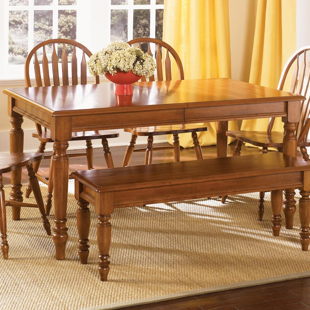 Liberty Furniture Low Country Rectangular Dining Table - Item Number: 76-T3876