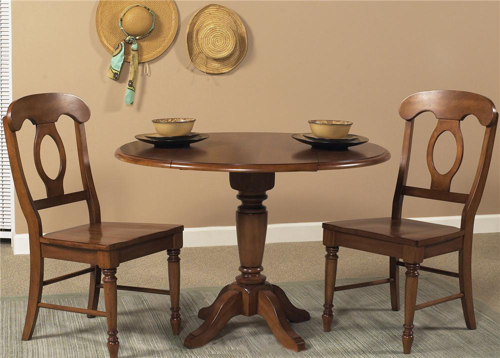 Liberty Furniture Low Country Three Piece Set - Item Number: 76-T4242+2xC5500S