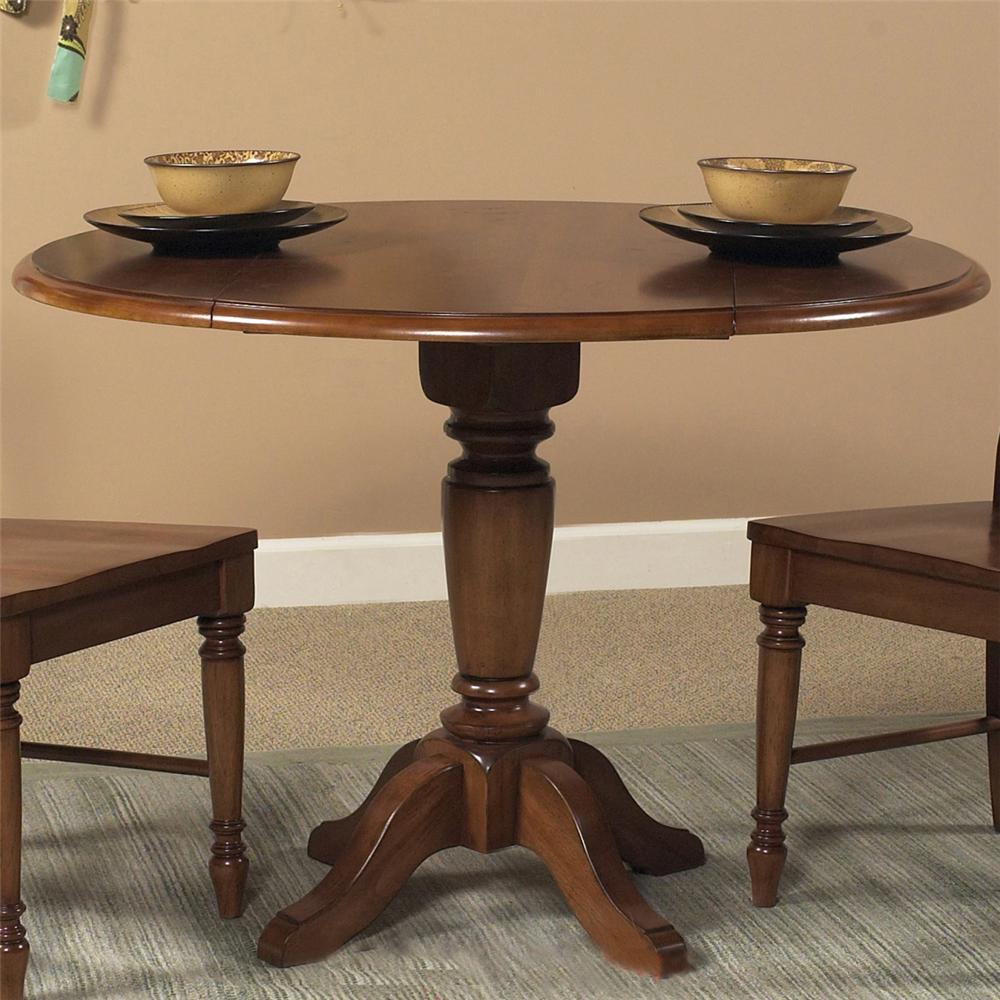 Liberty Furniture Low Country Round Pedestal Table - Item Number: 76-T4242