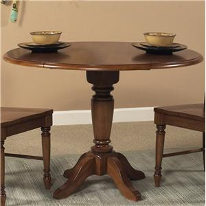 Liberty Furniture Low Country Round Pedestal Table