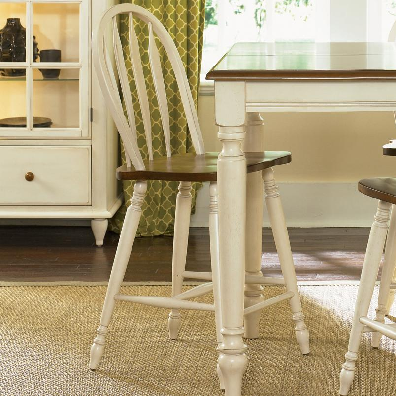 Liberty Furniture Low Country Windsor Back Barstool - Item Number: 79-B100024