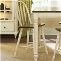 Vendor 5349 Low Country Windsor Back Barstool - Item Number: 79-B100024