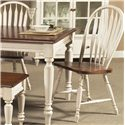 Vendor 5349 Low Country Windsor Back Side Chair - Item Number: 79-C1000S