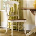 Liberty Furniture Low Country Napoleon Back Side Chair - Item Number: 79-C5500S