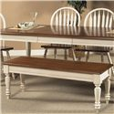 Liberty Furniture Low Country Bench - Item Number: 79-C9000S