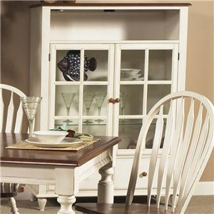 Liberty Furniture Low Country Curio Cabinet