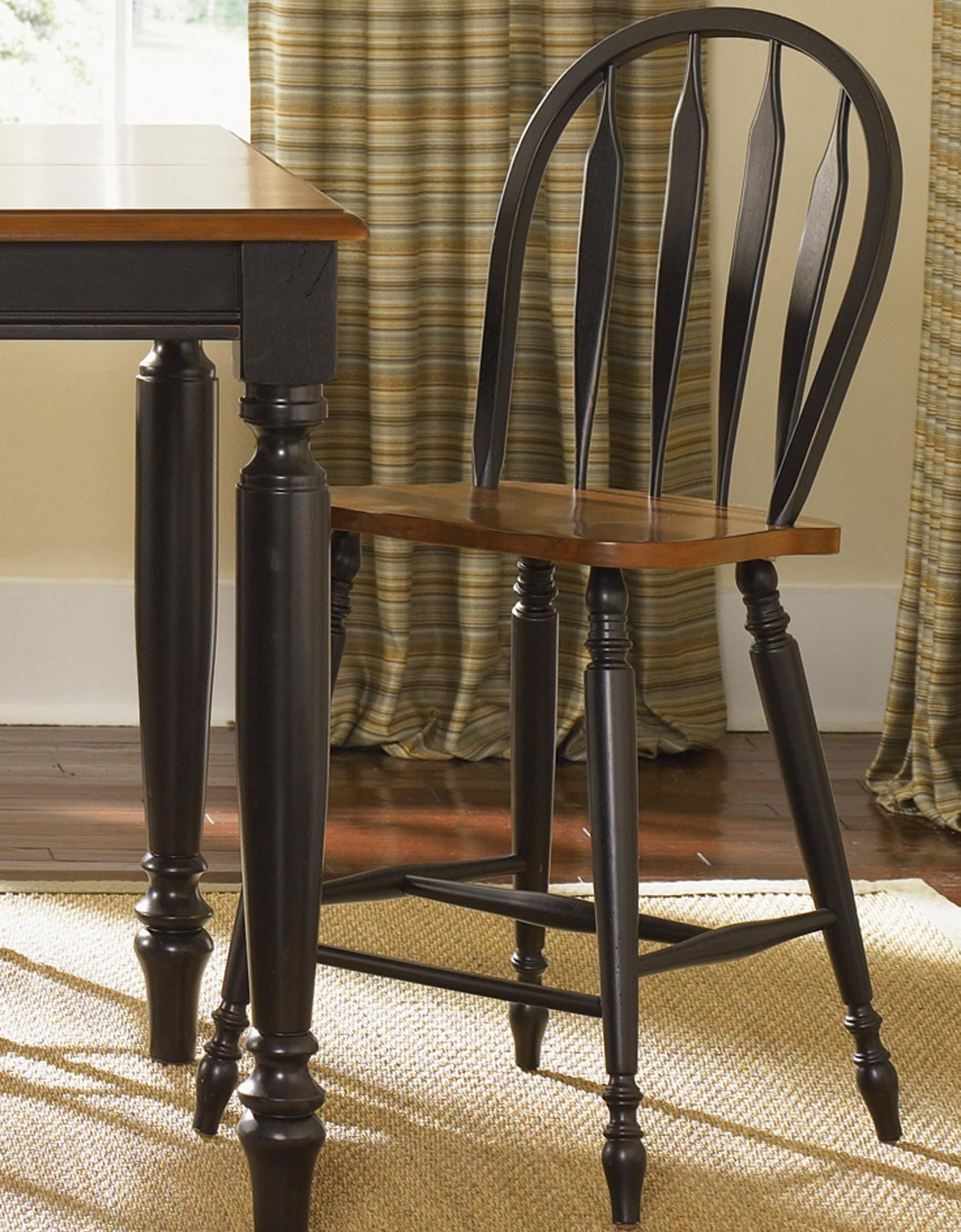 Liberty Furniture Low Country Windsor Back Barstool - Item Number: 80-B100024