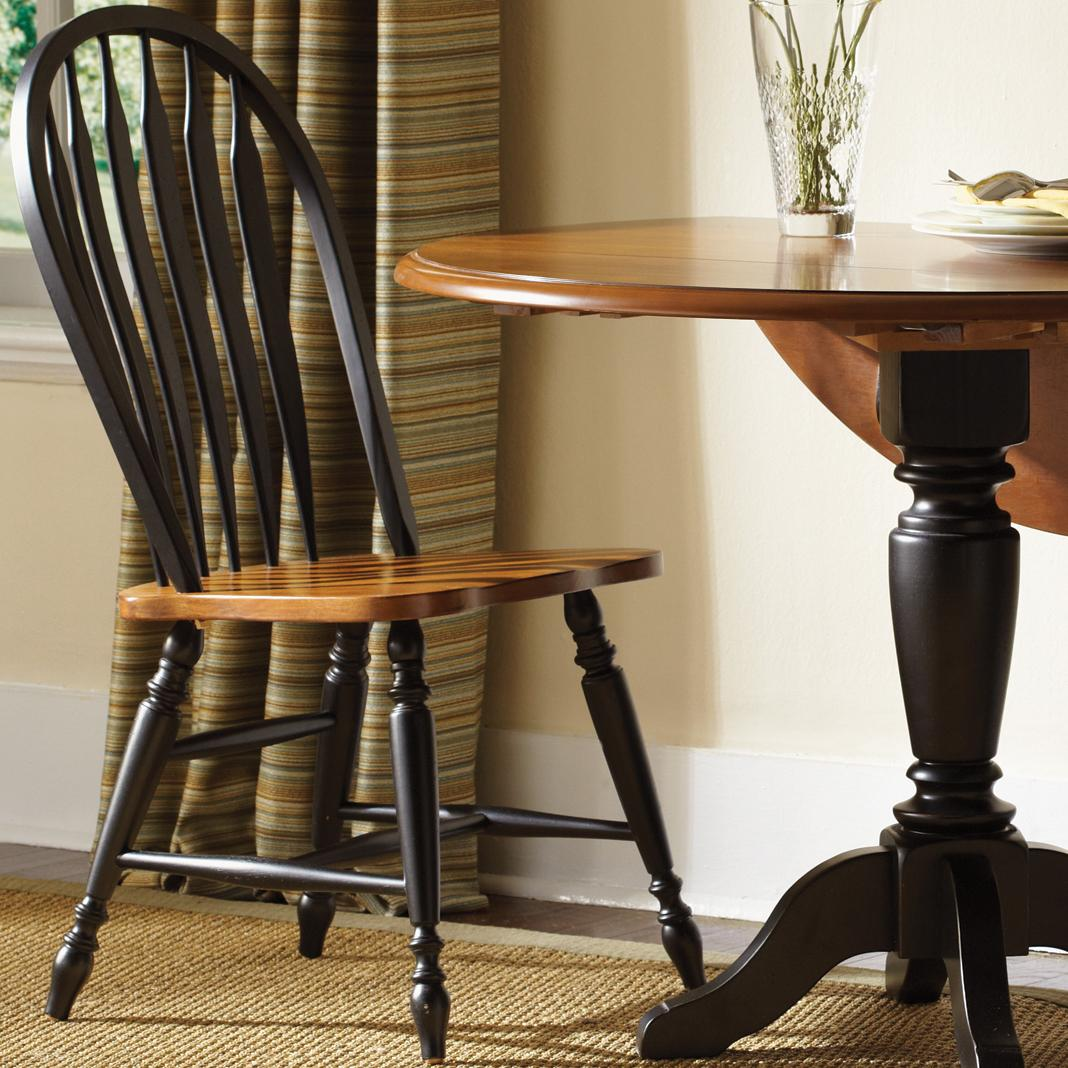 Liberty Furniture Low Country Windsor Back Side Chair - Item Number: 80-C1000S