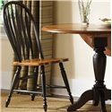 Vendor 5349 Low Country Windsor Back Side Chair - Item Number: 80-C1000S