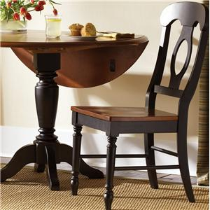 Vendor 5349 Low Country Napoleon Back Side Chair