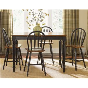 Vendor 5349 Low Country Five Piece Gathering Height Set