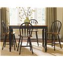 Vendor 5349 Low Country Five Piece Gathering Height Set - Item Number: 80-CD-SET14