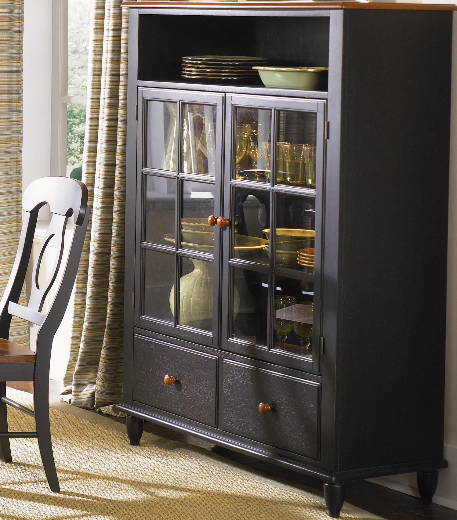 Liberty Furniture Low Country Curio Cabinet - Item Number: 80-CH4460